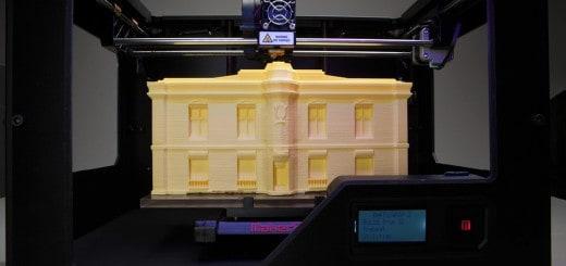 Makerbot Replicator 3D-Drucker können auch Gebäude-Modelle herstellen.