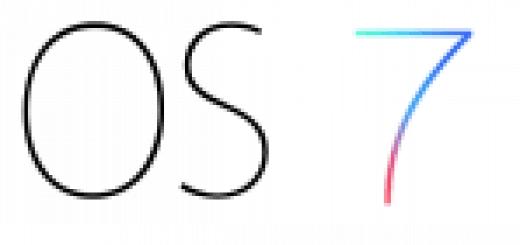 Logo Apple iOS7