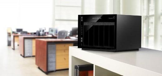 Die neue Seagate NAS-Pro Serie gibt es mit bis zu sechs Einschüben für bis zu 30 TB Speicherkapazität