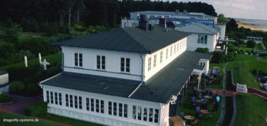 Auch Dächer lassen sich mit Hilfe der Luftaufnahmen von Dragonfly Systems leicht kontrollieren