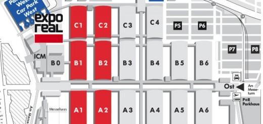 Sechs Hallen, drei CAFM-Aussteller: Die Expo-Real hat nicht für jeden viel zu bieten