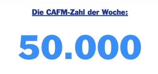 Die CAFM-Zahl der Woche ist 50.000 - für die Anzahl der Datensätze auf vdi3805.org