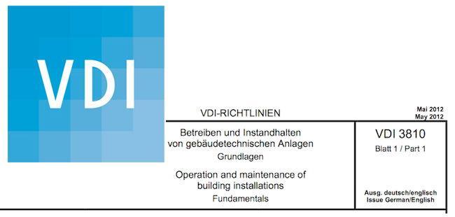 Detailliert Vdi Richtlinien Reihe 3810 Zur Betreiberverantwortung