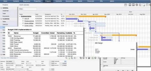 Die CAFM-Software Axxerion hat ein eigenes Tool für Projektmanagement an Bord