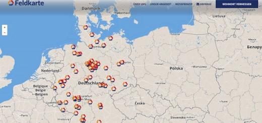 Funklöcher und mehr zeigen die Analysen von Feldkarte.de