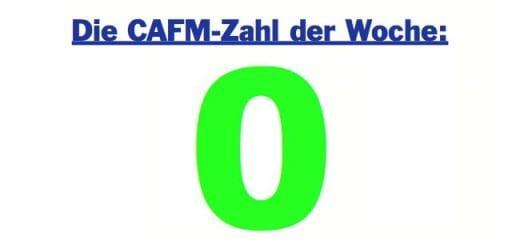 Die CAFM-Zahl der Woche ist die Null, denn der BGH setzt zukünftig bei Vermietung die exakte Fläche als Berechnungsgrundlage voraus