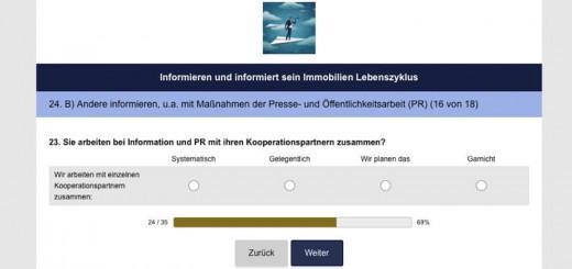 ImmoKom, die Kommunikationsagentur von Ralf Golinski, führt aktuell eine Umfrage zu PR im FM durch