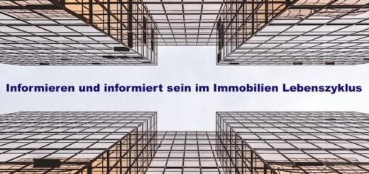 """Noch bis zum 31. Mai läuft die Erhebung für die Marktstudie """"Informieren und informiert sein im Immobilien Lebenszyklus"""""""