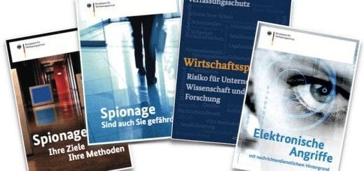 Mit einer neuen Broschüren-Reihe warnt das Bundesamt für Verfassungsschutz vor Wirtschafts-Spionage und gibt Tipps und Hilfestellungen