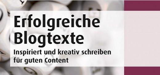 """Der Titel verspricht viel: """"Erfolgreiche Blogtexte: Inspiriert und kreativ schreiben für guten Content"""" ist eine umfangreiche Sammlung von Kreativitäts-Tipps, Handwerkszeug und Checklisten"""