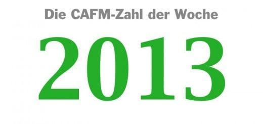 Die CAFM-Zahl der Woche ist die 2013 - die aktuelle Versionsnummer des DWG-Dateiformats für AutoCAD