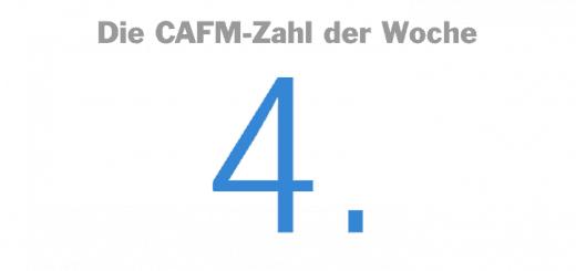 Die CAFM-Zahl der Woche ist die 4 – für die 4. Auflage der Agenda BIM des VDI