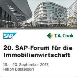 20. SAP-Forum für die Immobilienwirtschaft