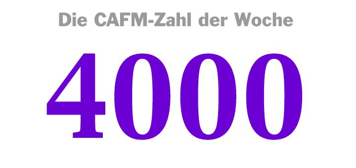 Die CAFM-Zahl der Woche ist die 4000 – für die Zahl der populärsten Suchbegriffe von Google, mit denen eine Software die Privatsphäre schützen will