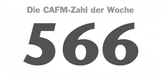 Die CAFM-Zahl der Woche ist dieses Mal die 566 – um so viele Prozent sind im Vergleich zum Vorjahr in 2016 die Angriffe auf IT-Systeme gestiegen