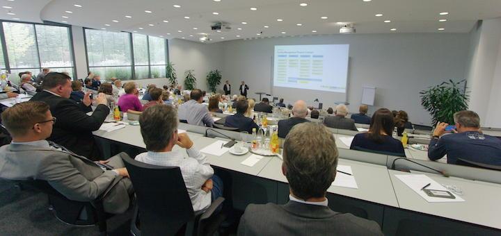 Rund 120 Besucher zählte der GEFMA Tag Niedersachsen 2017, der diese Woche bei Phoenix Contact in Bad Pyrmont statt fand