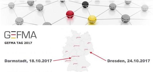 Die kommenden GEFMA-Tage im Oktober finden in Darmstadt und Dresden statt