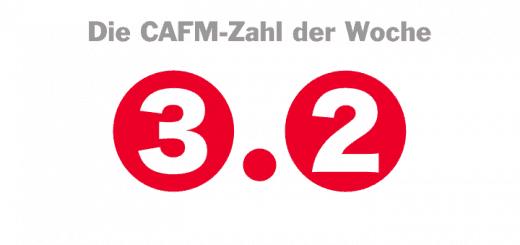 Die CAFM-Zahl der Woche ist die 3.2 – für die aktuelle Version des USB-Standards, mit dem sich inzwischen sogar ganze CAFM-Datenbanken auf eine Festplatte kopieren lassen.