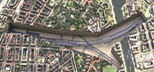 Auch die Erweiterung der U-Bahn in Stockholm wird mit Software von Bentley geplant