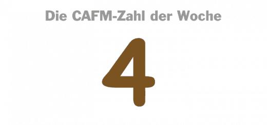 Die CAFM-Zahl der Woche ist die 4 – für derzeit (noch) vier mehr oder minder relevante mobile Betriebssysteme im CAFM