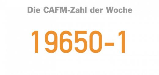 Die CAFM-Zahl der Woche ist die 19650-1 für den ersten Teil der BIM-DIN