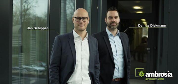 Seit 1. Januar bilden Jan Schipper (links) und Dennis Diekmann die Geschäftsführung von Ambrosia FM Consulting & Services