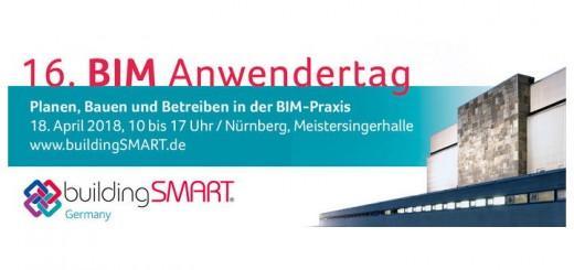 Der 16. BIM Anwendertag von buildingSMART Germany findet am 18. April in Nürnberg statt