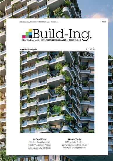 Mit Build-Ing. bringt Huss Medien das erste reine Fachmagazin für BIM auf den deutschen Markt
