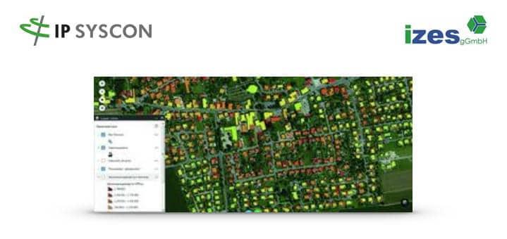 IP Syscon hat gemeinsam mit der izes gGmbH im Rahmen des Forschungsprojektes DynamiKa ein Wärmekataster entwickelt