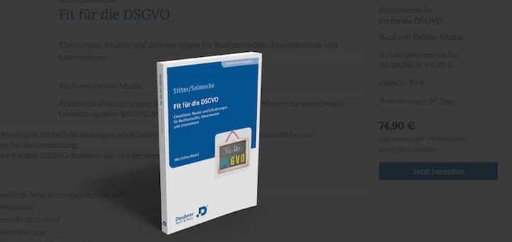 Licht für's Dunkel? Das Handbuch Fit für die DSGVO will praxisnah durch die Minenfelder der neuen Verordnung führen