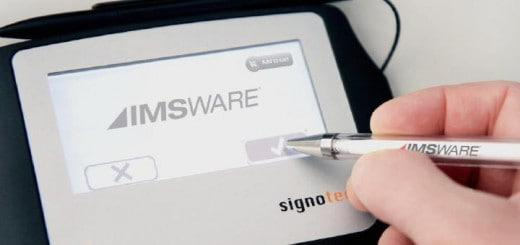 imsware signopad integriert