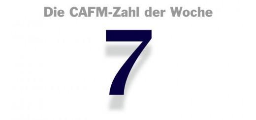 Die CAFM-Zahl der Woche ist die 7 – für die sieben Plagen des Bauens.