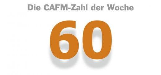 Die CAFM-Zahl der Woche ist die 60 – so viele BIM-Gruppen und -Cluster haben sich 2015 gegründet