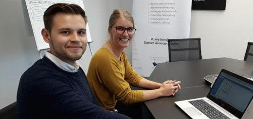 Eva Kleinschnieder und Denis Merk sind neu im Consulting-Team der InCaTec Solution
