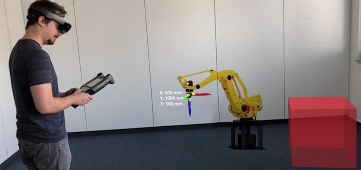 Im neuen Future.Lab entwickelt Speedikon auch Anwendungen für die Arbeit mit Robotern