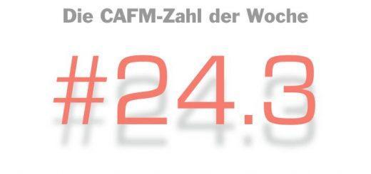 Die CAFM-Zahl der Woche ist die 24.3 – für den c't Podcast mit eben dieser Nummer, der Fragt, ob der PC schon tot sei