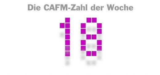 Die CAFM-Zahl der Woche ist die 18 – für die Anzahl von Standeinheiten, die CAFM-Anbieter auf der heute gestarteten BIM World Munich belegen