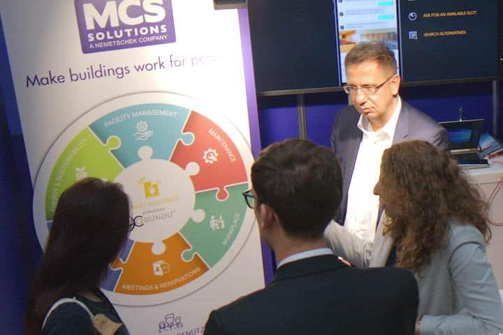 Viele Gespräche, gesteigerte Nachfrage: MCS auf der BIM World Munich 2018