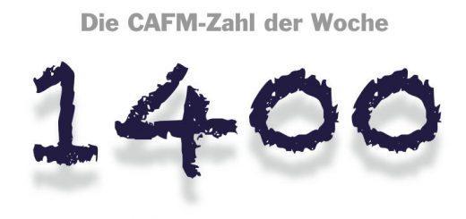 Die CAFM-Zahl der Woche ist die 1400 – so viele Personen nahmen bei der BIM-Umfrage des Zentralverbands Sanitär teil