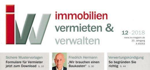 Die ivv beschäftigt sich in ihrer aktuellen Ausgabe intensiv mit dem Thema BIM